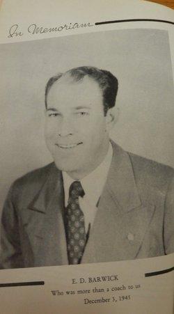 Eugene Debbs Barwick