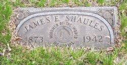 James E. Shaules