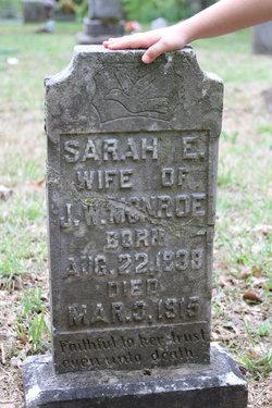 "Sarah Ellen ""Sallie"" <I>Foster</I> Monroe"