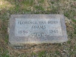 Florence <I>Masterson</I> Adams