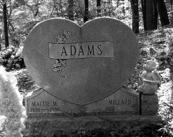 Mattie <I>Morrison</I> Adams