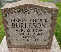 Dimple <I>Cooper</I> Burleson