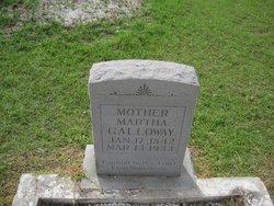 Martha <I>Hayes</I> Galloway