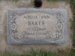 Adelia Ann Baker