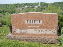 Marton E Tillett