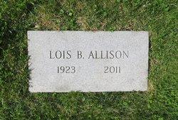 Lois <I>Barlow</I> Allison