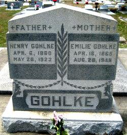 Emelie <I>Gerhardt</I> Gohlke