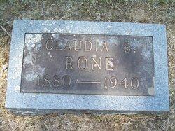 Claudia Bernice <I>McGinnis</I> Rone