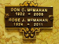 Rose J. McMahan