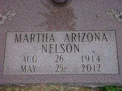 Martha Arizona Nelson