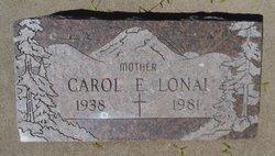Carol Elizabeth <I>Faro</I> Lonai