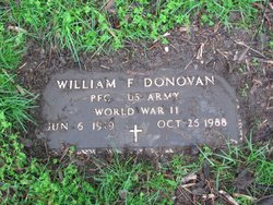 "William Francis ""Frank"" Donovan"