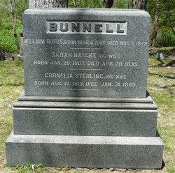 Sarah M. <I>Haight</I> Bunnell