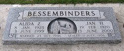 Jan H Bessembinders