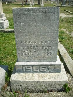 Louisa A <I>Holtz</I> Isley