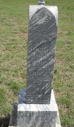 Martha Jane <I>Pierce</I> Hultsman