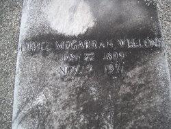 Ethel Elizabeth <I>McGarrah</I> Wellons