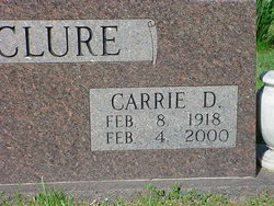 Carrie May <I>Daily</I> McClure