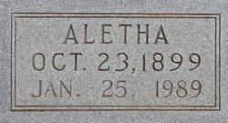 """Aletha """"Ducky"""" <I>Williams</I> Murphy"""