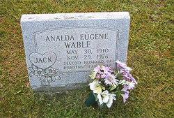 """Analda Eugene """"Jack"""" Wable"""