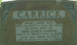 Mary Jane <I>Day</I> Carrick