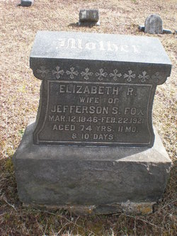 Elizabeth R. <I>Frankenfield</I> Fox
