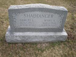 Samuel Lapp Shaddinger