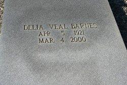 Delia <I>Veal</I> Barnes