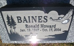 Ronald Howard Baines