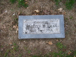 Marilyn F Aman