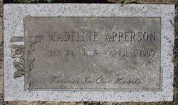 Ada Madeline <I>Luzader</I> Apperson