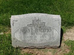 "Brian E. ""Bee Real"" Pendleton"