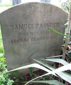 Samuel Faulder