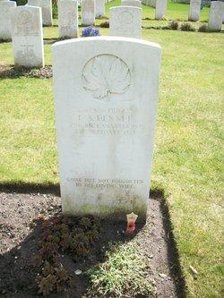 Private Ernest Arthur Dennee