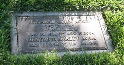 Leatrice Shirley <I>Anderson</I> Agre