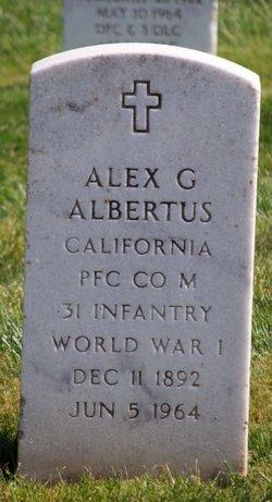 Alex G Albertus