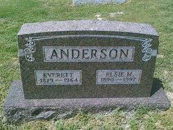 Elsie M. <I>Hobson</I> Anderson