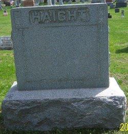 Jane E. <I>Barker</I> Haight