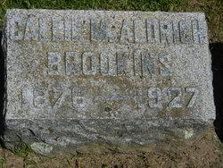 Callie M <I>Aldrich</I> Brookins