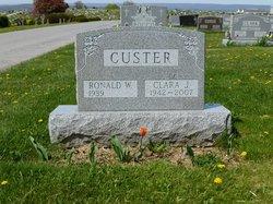 Clara Jane <I>Harbaugh</I> Custer