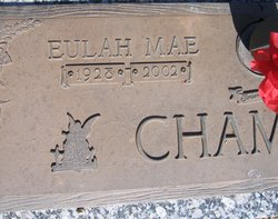 Eulah Mae <I>Archer</I> Chambers