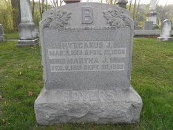 Martha Jane <I>Myerle</I> Boyers