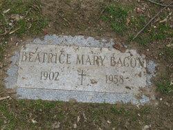 Beatrice Mary <I>LaForce</I> Bacon