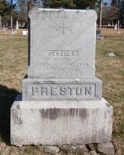 Jessie F. <I>Stevenson</I> Preston