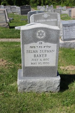 """Selma """"Sadie"""" <I>Berman</I> Baker"""