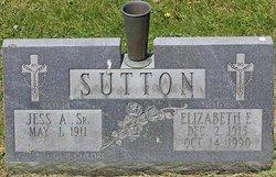 "Jesse Arthur ""Jess"" Sutton, Sr"