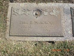 Ebbie Evelyn <I>Russell</I> Hargrove