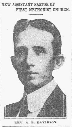 Rev Alexander Brownlee Davidson