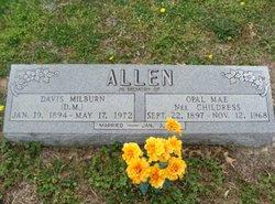 """Davis Milburn """"D.M."""" Allen"""