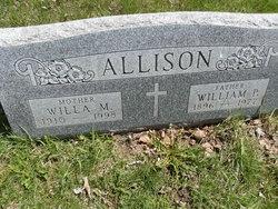 Willa M Allison